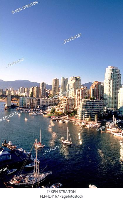 Vancouver Skyline and Harbour, Vancouver, British Columbia