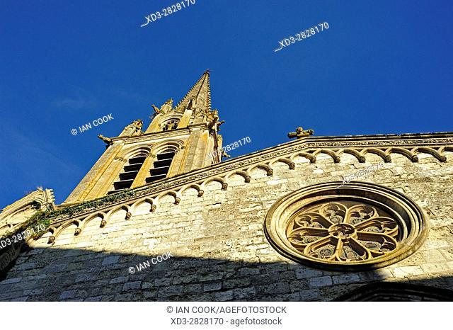 Eglise Notre Dame, Sainte-Foy-la-Grande, Gironde Department, Aquitaine, France