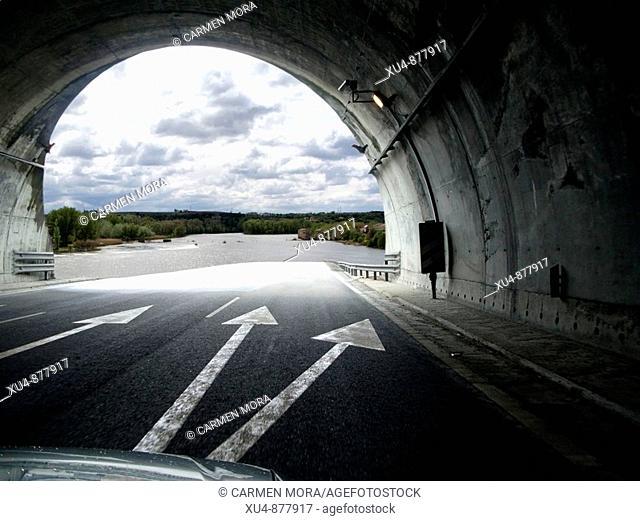 vigo road-Orense, Spain