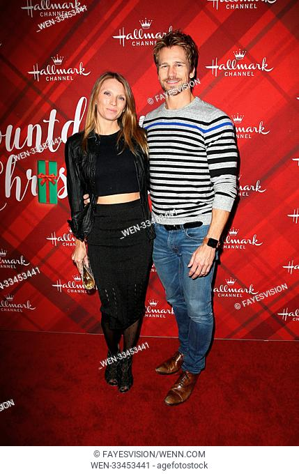 Hallmark Channel Screening of Christmas at Holly Lodge Featuring: Rusty Joiner, Charity Walden Joiner Where: Los Angeles, California