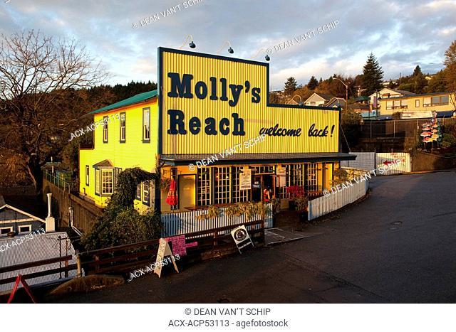 Molly's Reach Restaurant, Summer Morning, Gibsons, Sunshine Coast, B.C., Canada