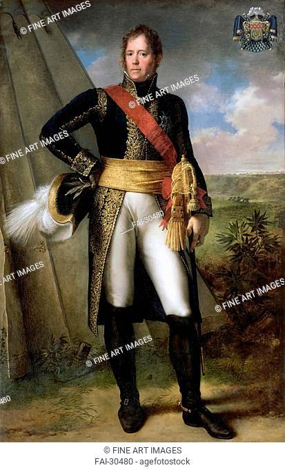 Portrait of Marshal Michel Ney (1769-1815) by Rouillard, Jean-Sébastien (1789-1852)/Oil on canvas/Neoclassicism/1804/France/Musée de l'Histoire de France