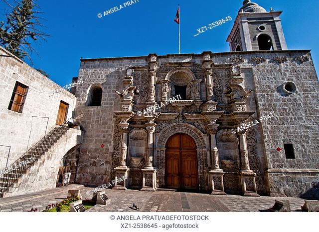 Iglesia de Sant Augustin, Arequipa, Peru