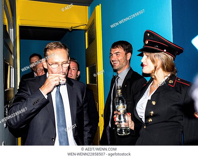 Celebrities at the 10 year anniversary party of Pan Am Lounge in Charlottenburg. Featuring: Michael Mueller Where: Berlin