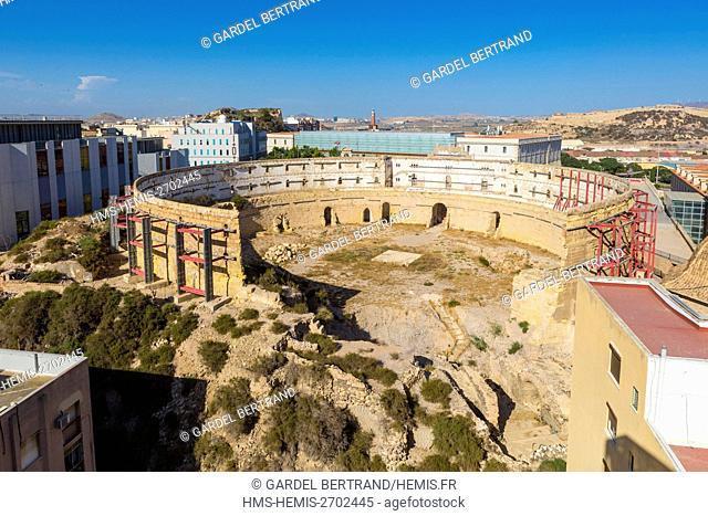 Spain, Murcia Community, Cartagena, arenas