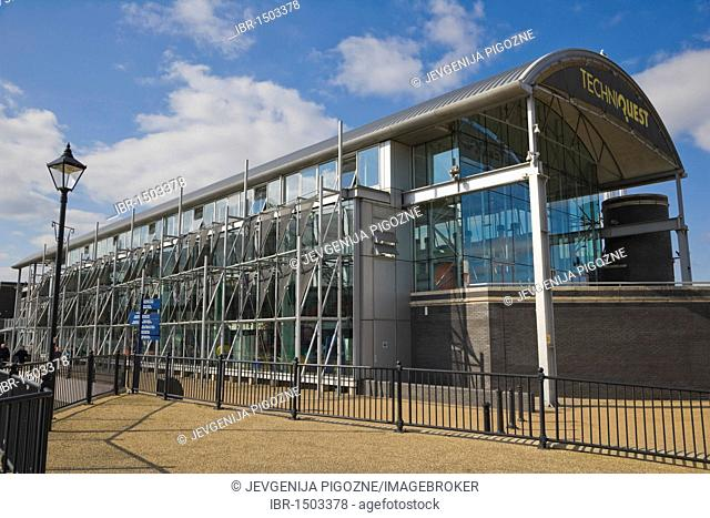 Techniquest, science and discovery centre, Cardiff Bay, Cardiff, Caerdydd, South Glamorgan, Wales, United Kingdom, Europe