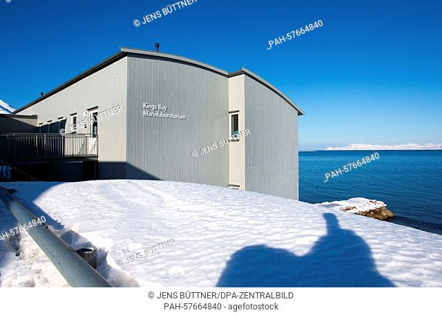 The Kings Bay Marine Laboratory that had been reopened in 2005 in Ny-Alesund, Norway, 09 April 2015. Especially marine biologists and ecologists, oceanographers
