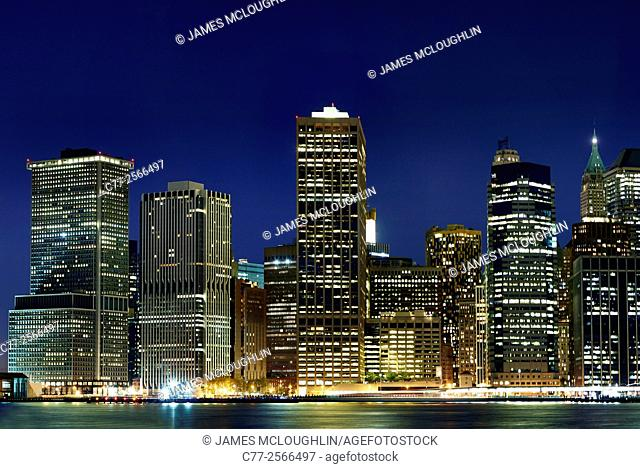 New York City, Manhattan, Skyline, Manhattan South