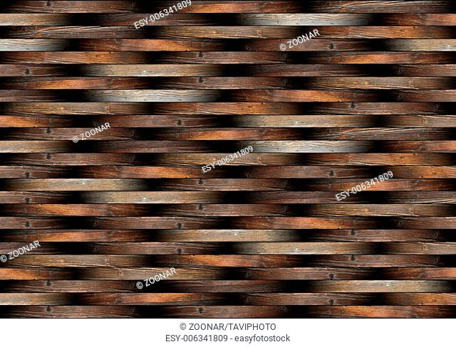 striped pieces of floor forming beautiful wooden p