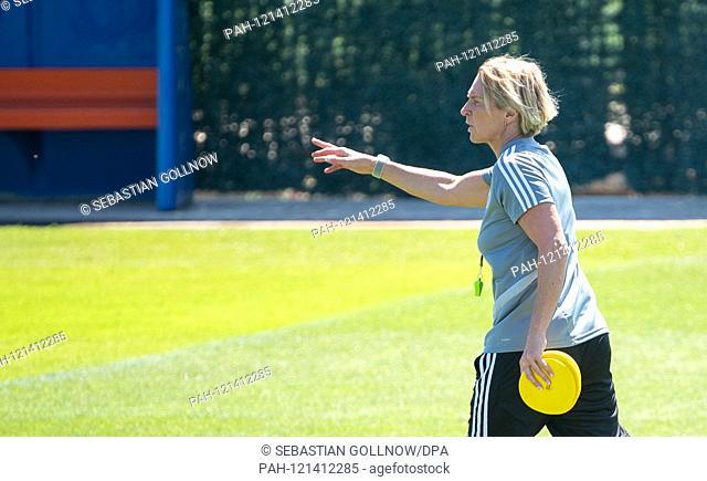 16.06.2019, France, Montpellier: Football, Women: World Cup, National Team, Germany, final training: Martina Voss-Tecklenburg