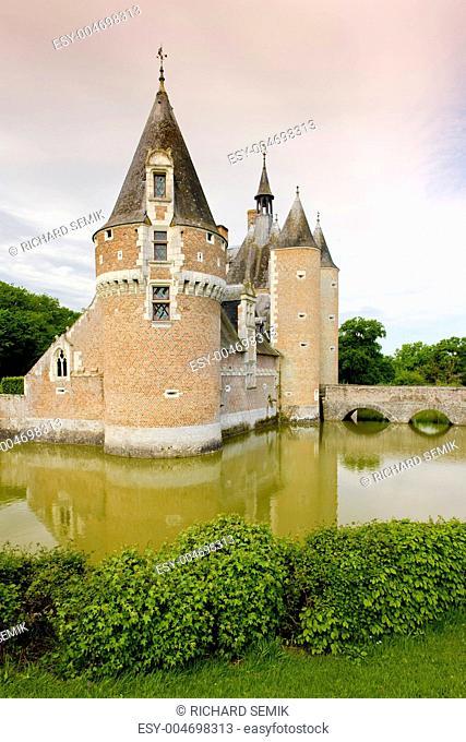 Chateau du Moulin, Lassay-sur-Croisne, Centre, France
