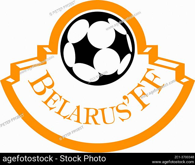 Logo of the Belarusian national football team - Belarus