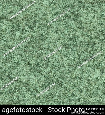 An illustration of a seamless typical green granite texture background