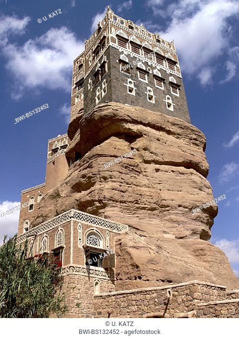 Dar al-Hajar, the Rock Palace, Yemen, Wadi Darr