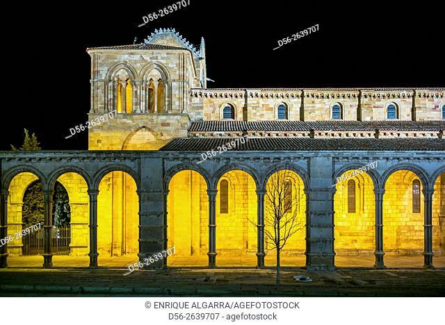 San Vicente Basilica in Avila, Castilla y Leon, Spain