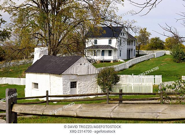 Joseph Poffenberger Farm, Antietam National Battlefield, Sharpsburg, Maryland, USA