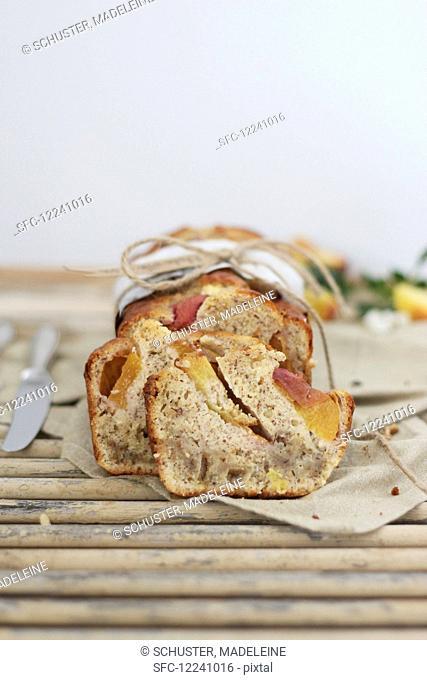 Apricot bread to take away