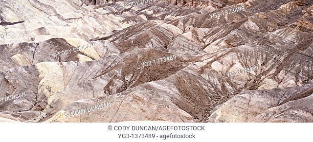 Badlands at Zabriskie point, Death Valley national park, California