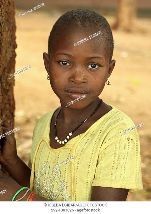 Girl, Mozambique