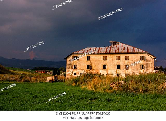 Altopiano of Asiago, Province of Vicenza, Veneto, Italy