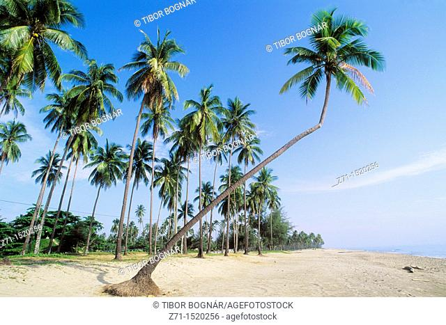 Pantai Irama beach, Kota Bharu, Kelantan, Malaysia