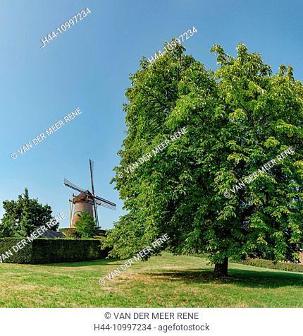Wijchen, Gelderland, Tower mill called The Old Mill