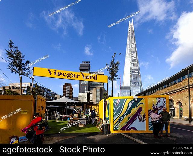 Vinegar Yard Shopping and Food Venue, Thomas Street, London, England