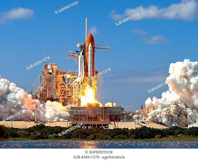 Launch of Space Shuttle Atlantis on STS-66