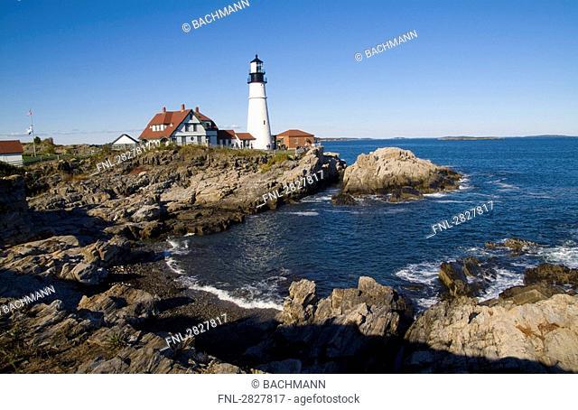 Portland Head Lighthouse, Cape Elizabeth, USA