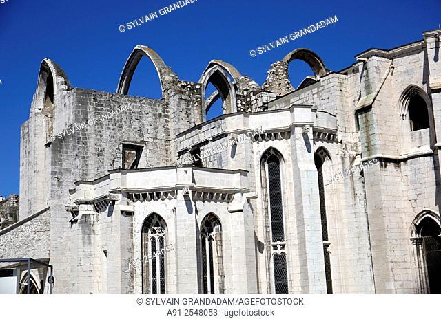 Portugal, Lisbon, Carmo Convent