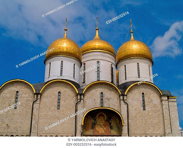 cathedral Uspenskiy Kremlin, Moscow, Moscow