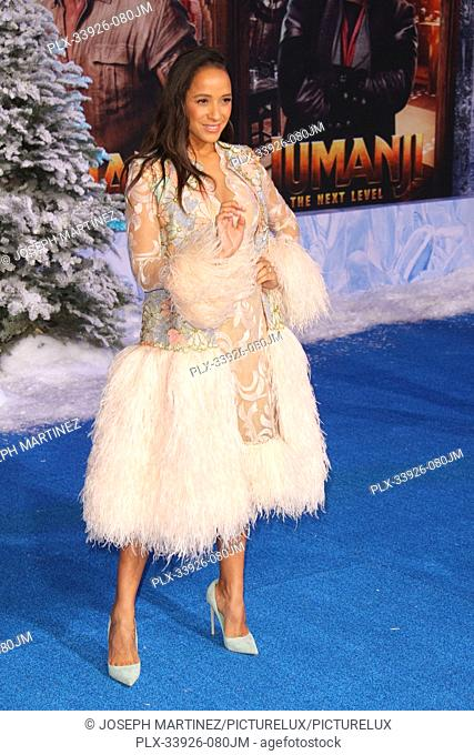 """Dania Ramirez at Sony Pictures' """"""""Jumanji: The Next Level"""""""" World Premiere held at the TCL Chinese Theater in Hollywood, CA, December 9, 2019"""