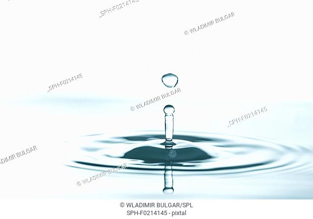 Water impact drop