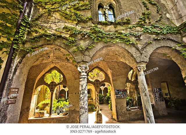 Villa Cimbrone, Ravello, Amalfi coast, Campania, Italy, Europe