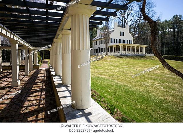 USA, New Hampshire, Cornish, Saint-Gaudens National Historic Site, 1885-1907 home and studio of American sculptor Augustus Saint-Gaudens