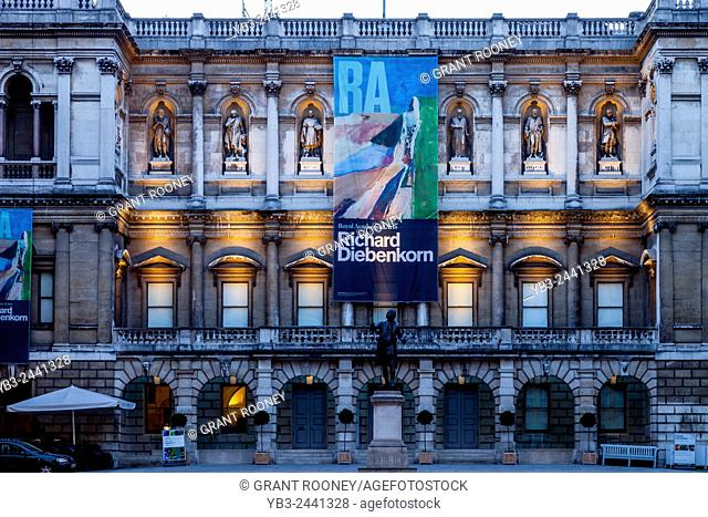 The Royal Academy of Arts Building, Piccadilly, London, England
