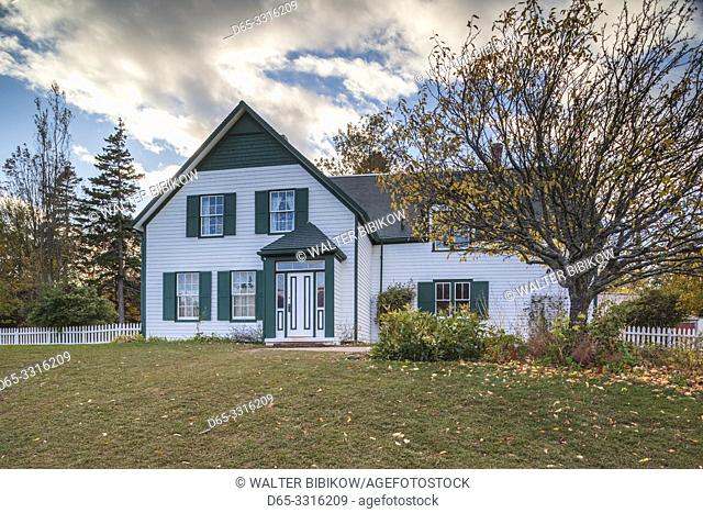 Canada, Prince Edward Island, Cavendish, Green Gables House, former home of Anne of Green Gables author Lucy Maud Montgomery