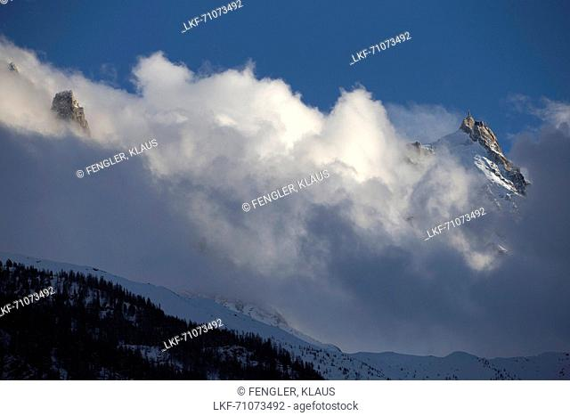 Aiguille du Midi 3842 m, Chamonix, France