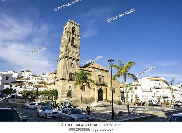 Iglesia Parroquial de Nuestra Señora de la Encarnación,Plaza Baja de la Despedía, Alora, Malaga, Andalucia, Spain