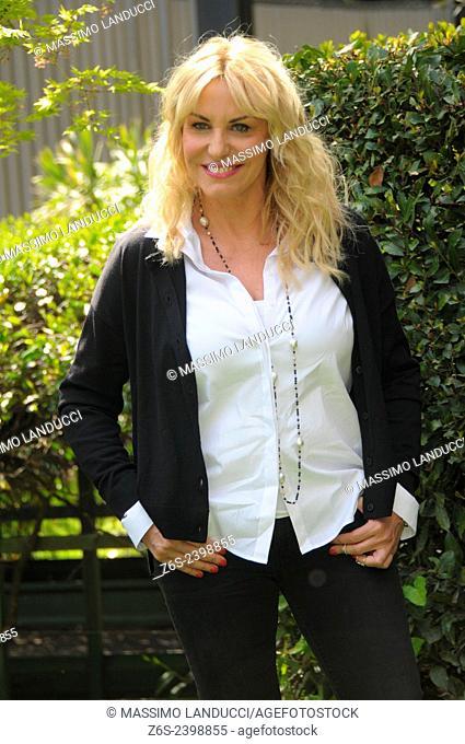 Antonella Clerici; Clerici; presenter TV ; celebrities; 2015;rome; italy;event; photocall; senza parole