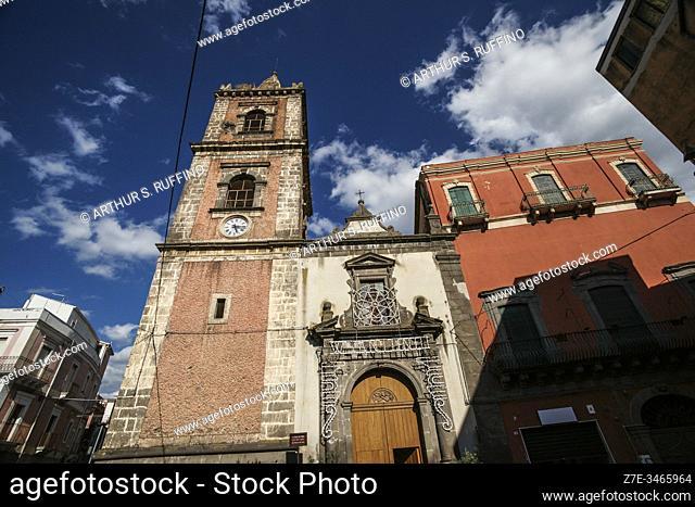 St. Peter's Church (Chiesa San Pietro). Adrano, Sicily, Italy