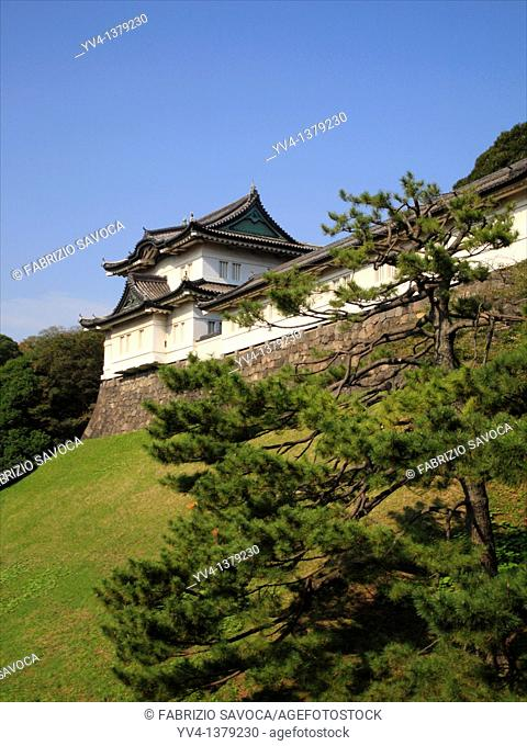 Fushimi yagura, Tokyo Imperial Palace  Tokyo, Japan  It is said to be the most beautiful keep at the Imperial Palace, Fushimi Yagura Keep once stood on the...