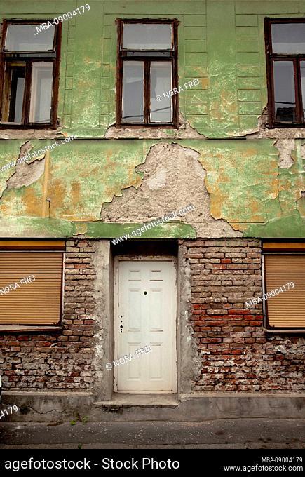 Zemun, House, Window, Belgrade, Serbia