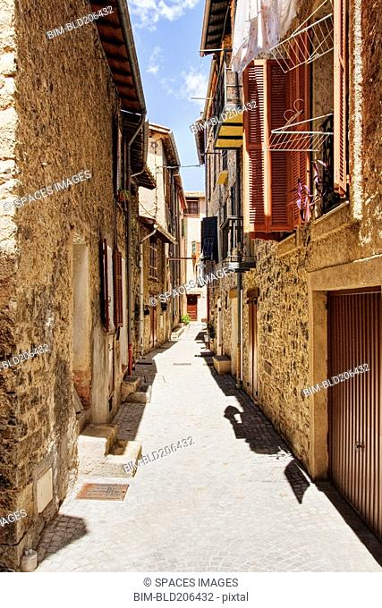 Alleyway in France