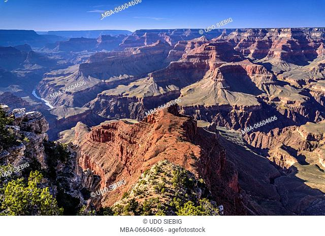 The USA, Arizona, Grand canyon National Park, South Rim, Mohave Point