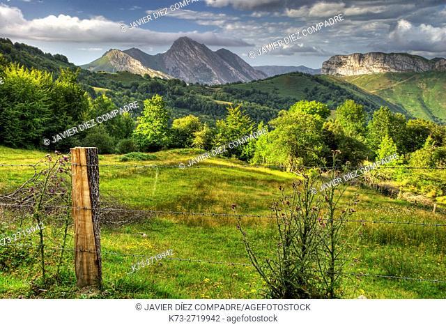 San Juan de Beleño. Ponga Council. Asturias. Spain