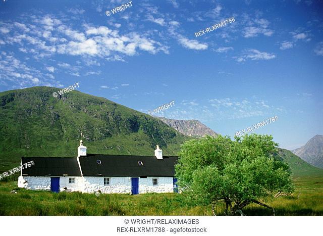 Black Rock House, Rannoch Moor, Scotland, U.K