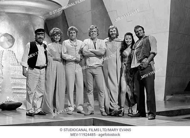 Warlords of Atlantis (1978) Shane Rimmer, Cyd Charisse, Peter Gilmore, Doug McClure, Lea Brodie, Hal Galili, Daniel Massey