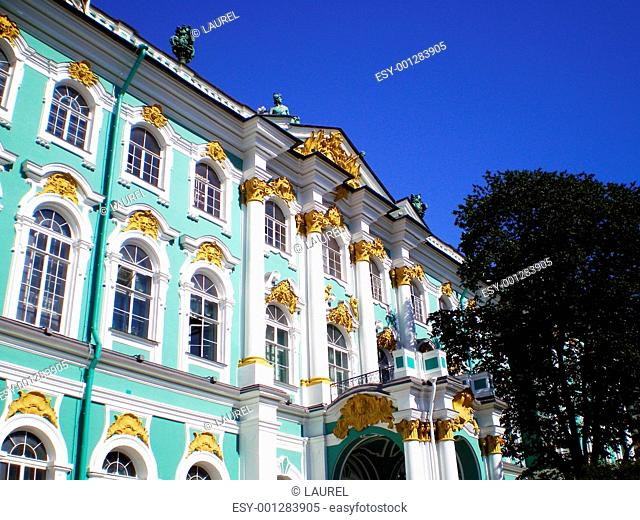 Gable of Winter Palace