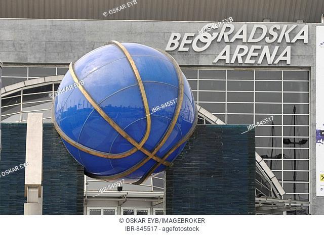 Eurovision Song Contest, the hall, Beo Gradska Arena, Belgrade, Serbia, Europe
